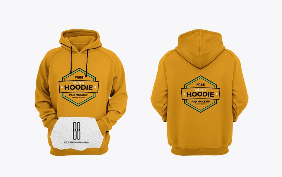 Download Free Men's Hoodie Mockup » CSS Author