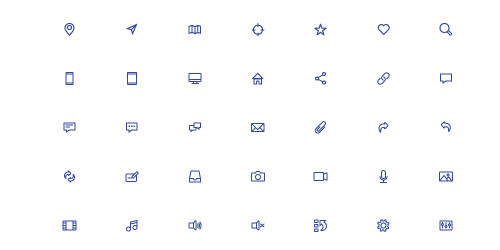 Free Outline Icon Set