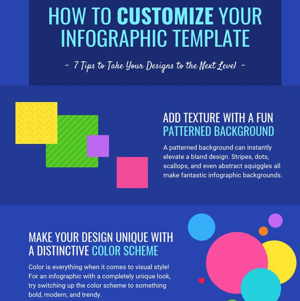 How to Infographic Template