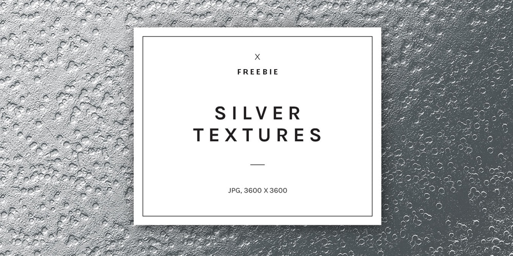 Sparkly Silver Foil Textures