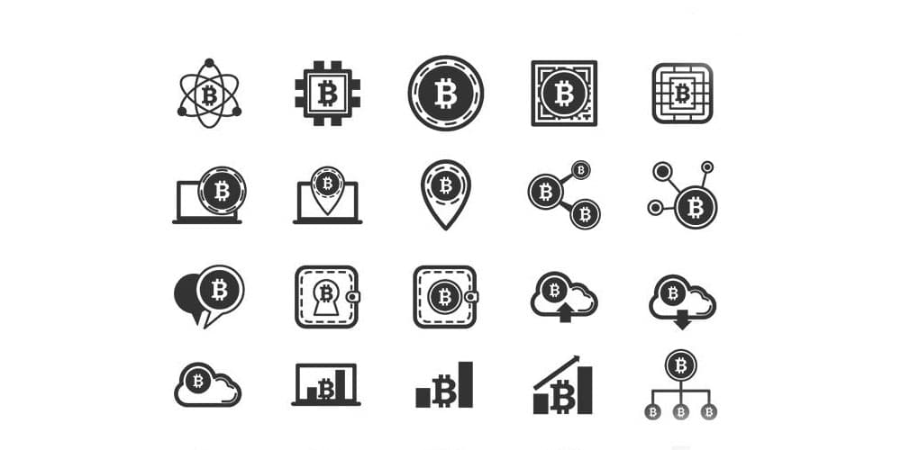 The Bitcoin Icons