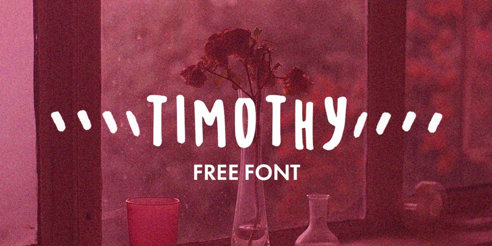 Timothy Hand Drawn Font