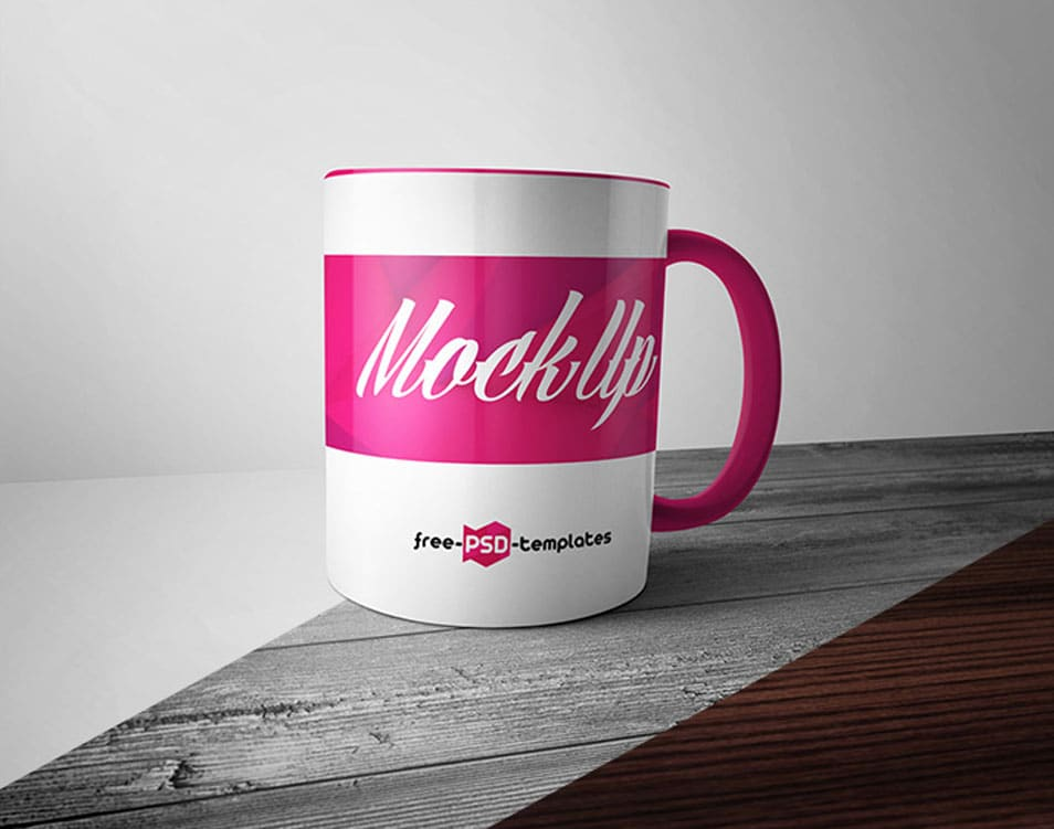 24 Free Mug Mock-up in PSD