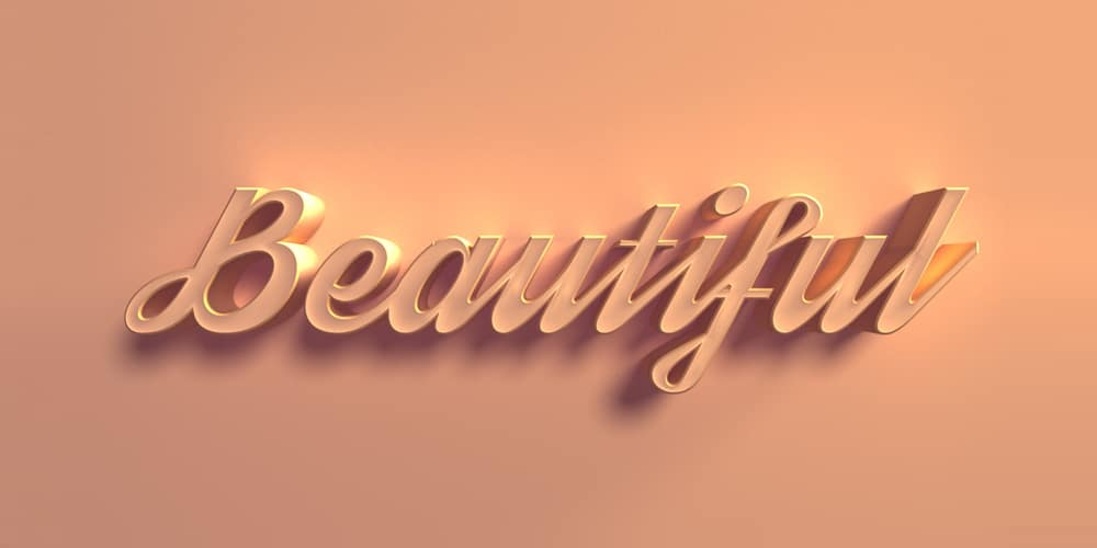 Best Collection Of 3D Text Effect Photoshop Tutorials