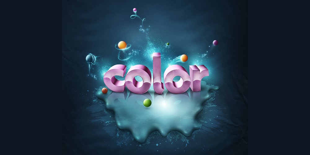 Add Color to 3D Text