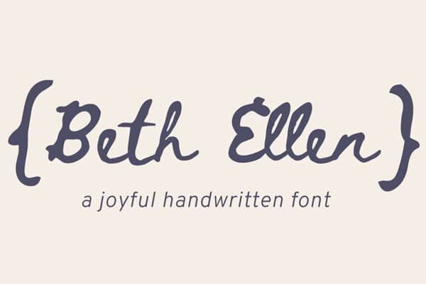 Best Free Hand Drawn Fonts » CSS Author