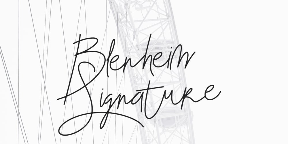 Blenheim Signature