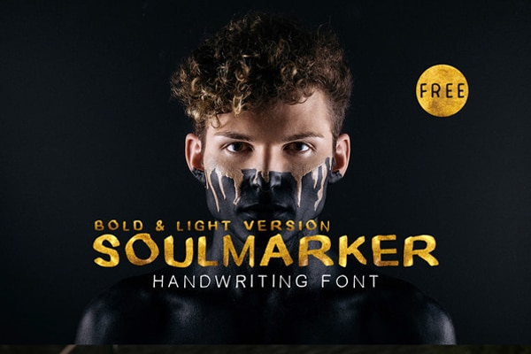 Free Soulmarker Handwriting Fonts