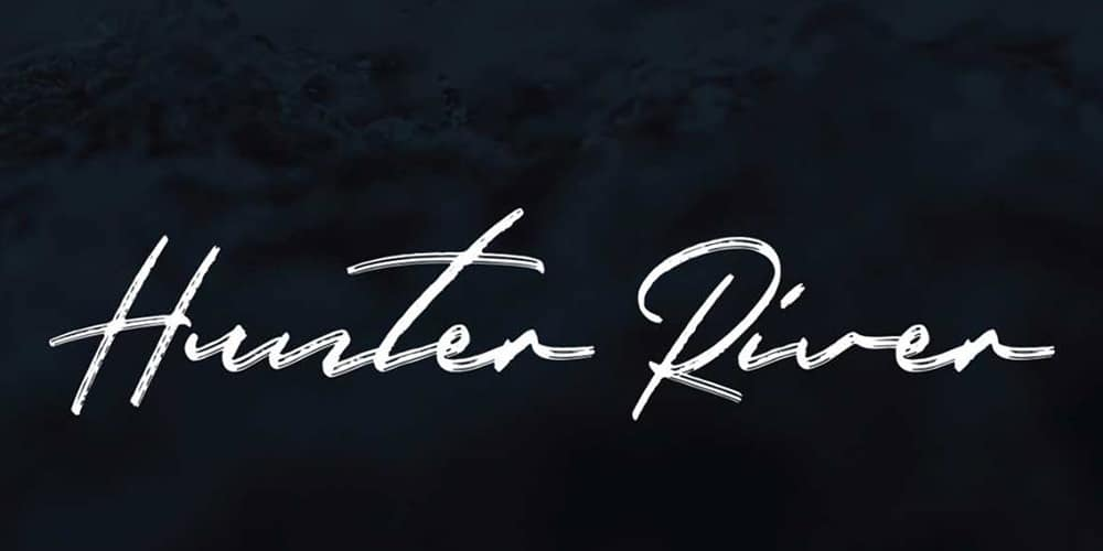 Hunter River Brush Script Typeface