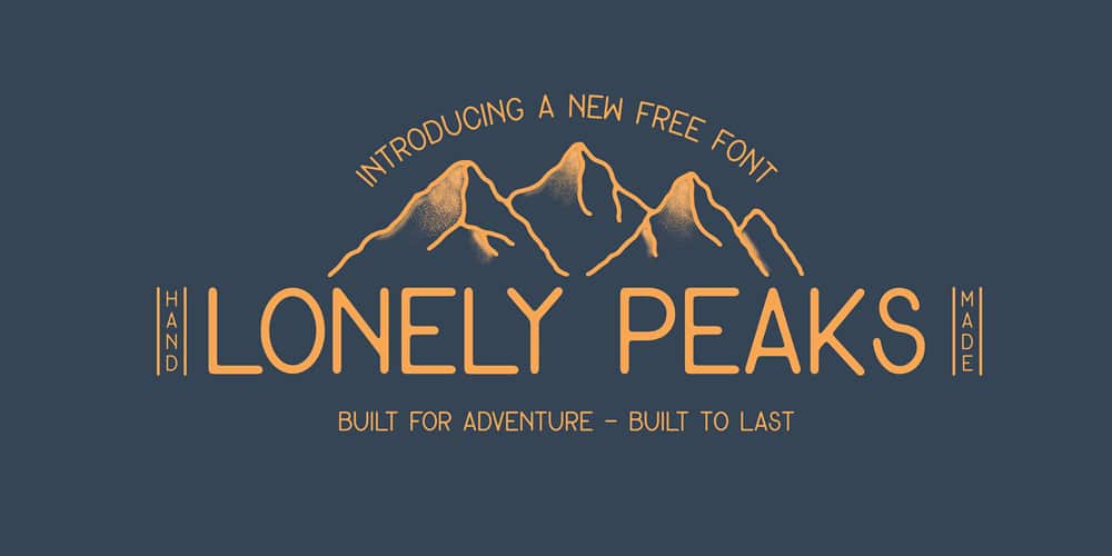 Lonely Peaks Font