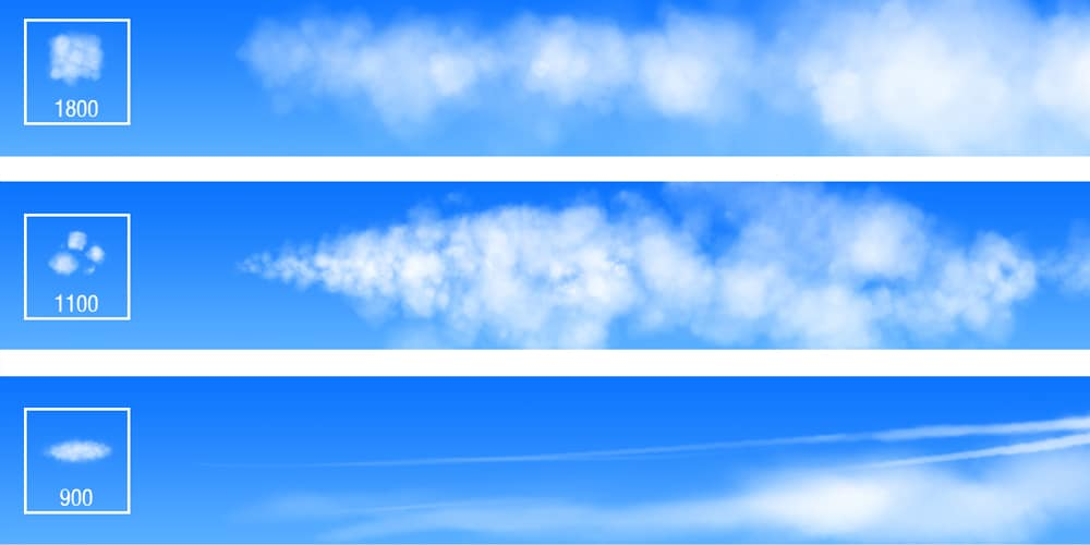 Photoshop Brushes For Painting Clouds