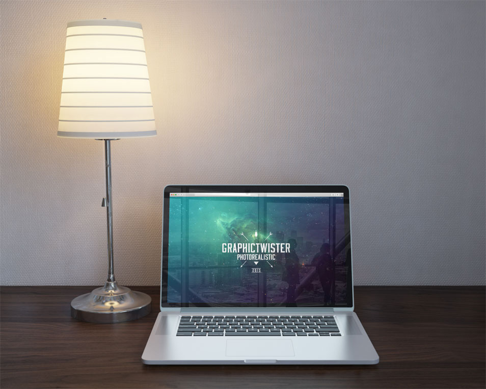 Royal MacBook Mockup