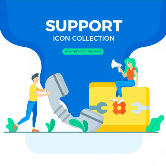Support Icon Collection