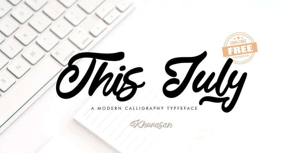 This July Font