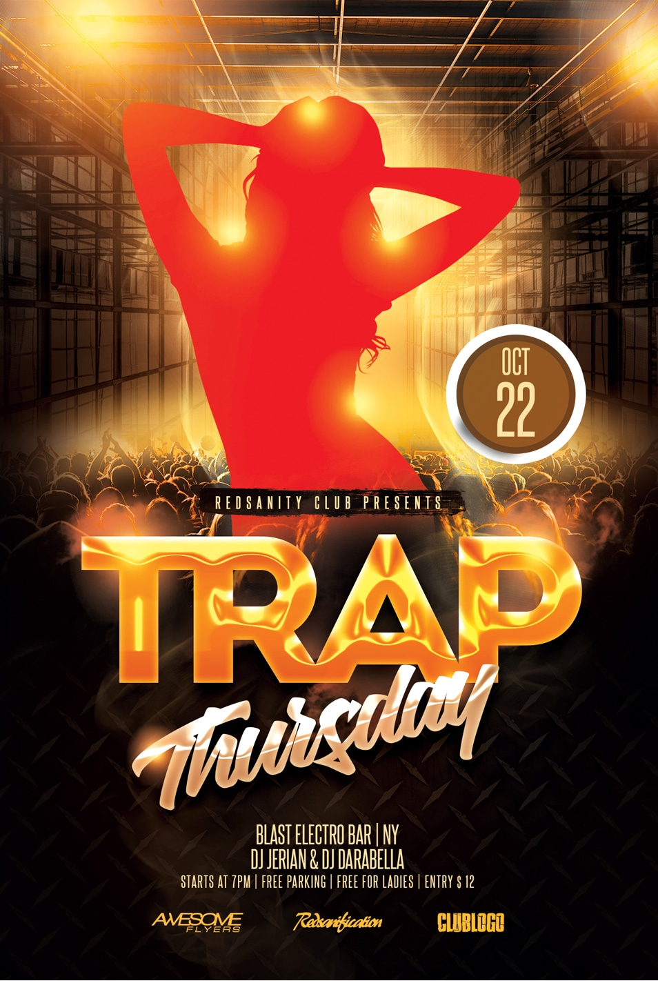 Trap Thursday Flyer Template PSD