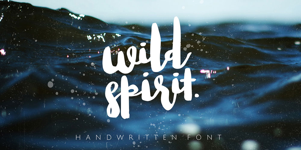 Wild Spirit Brush Font