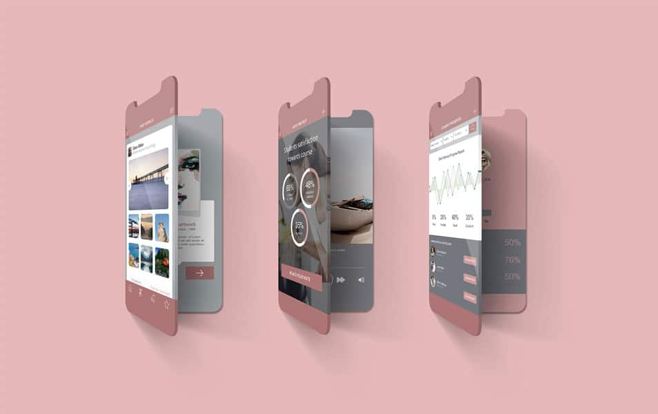 2 Free Multi Screen Mockups For iPhone