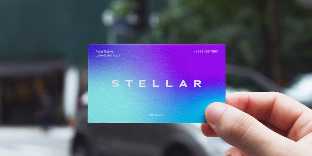 Business Card Mockup Urban Edition