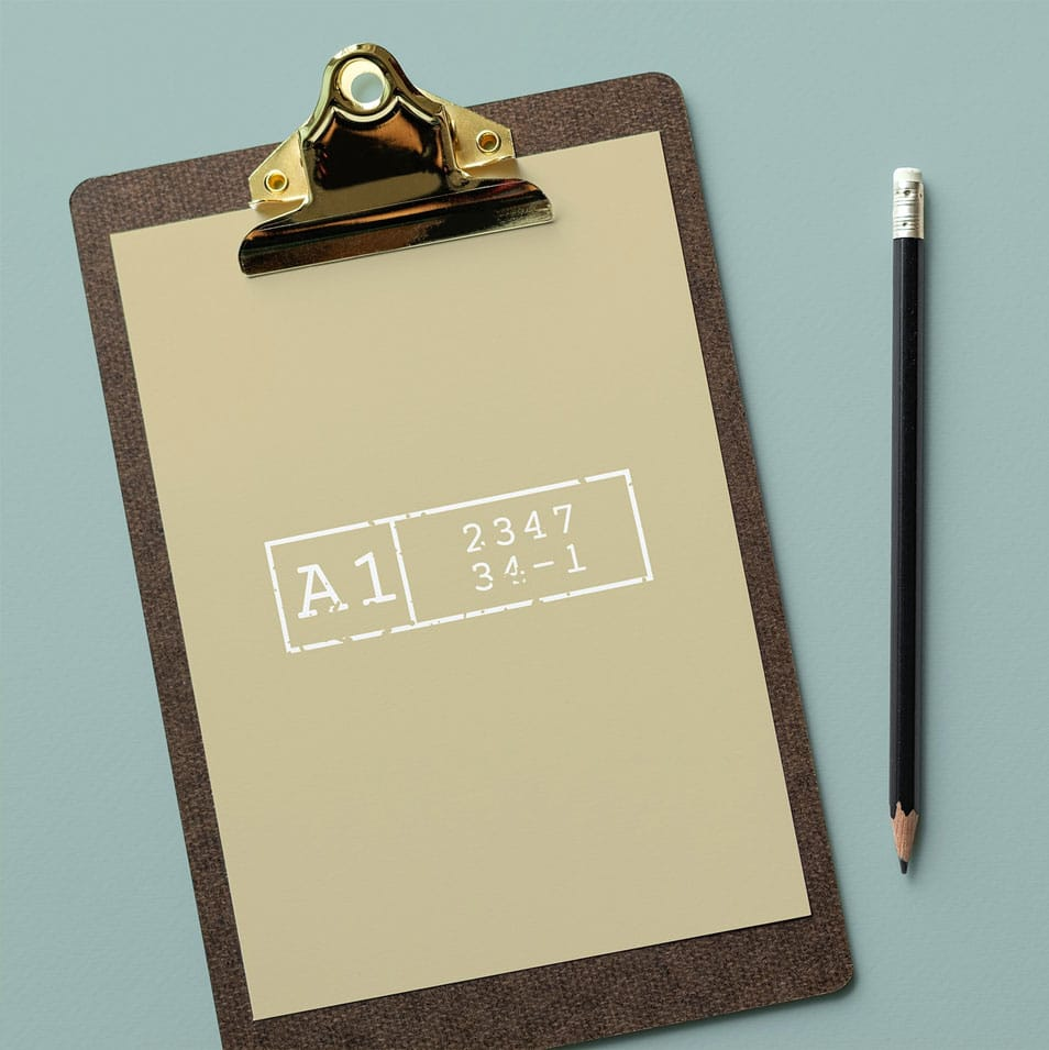 Clipboard with a Document Mockup