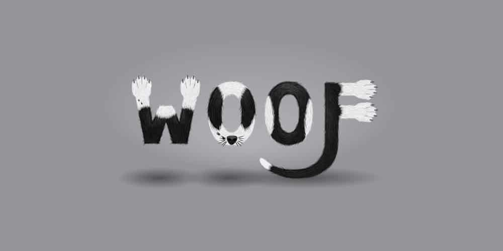 Furry-Calligram