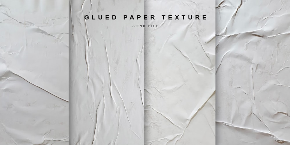 Glued Paper Texture