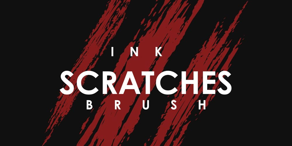 Ink Scratches Brush