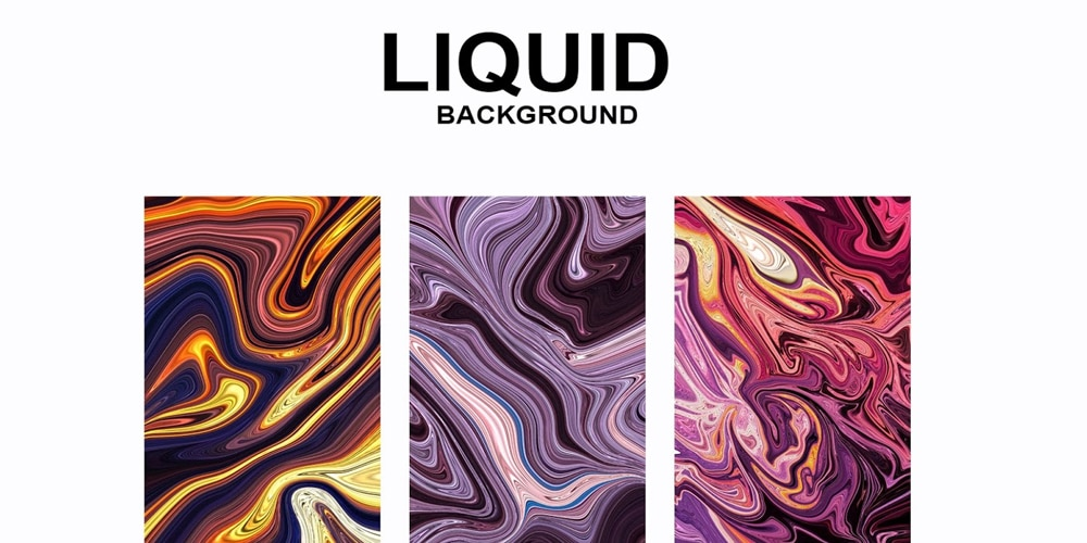 Liquid Abstract Background