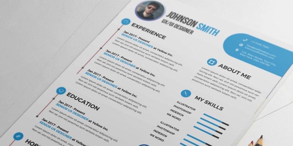 Free Resume Word from cssauthor.com