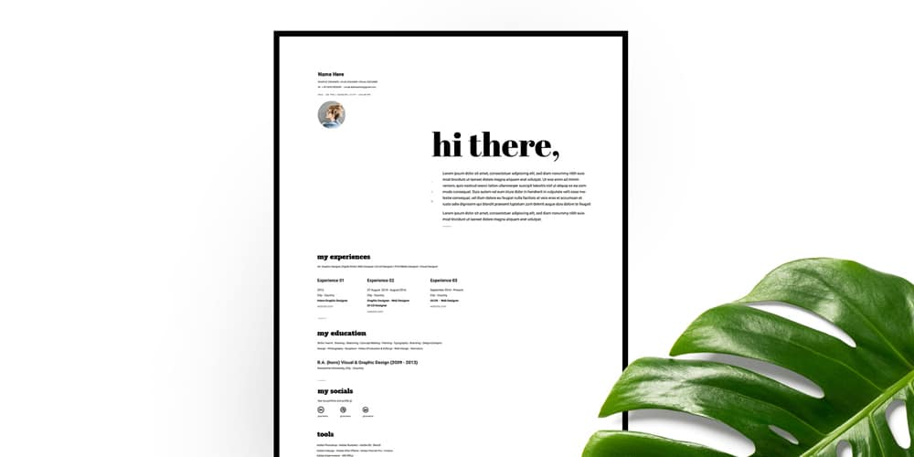 Resume-Cover-Letter-Design