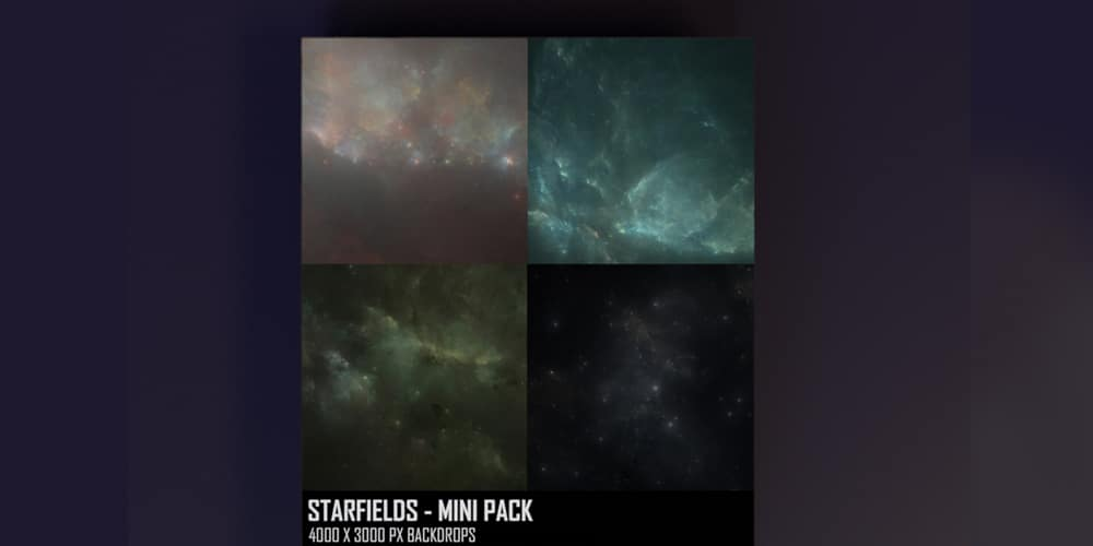 Starfields Backgrounds