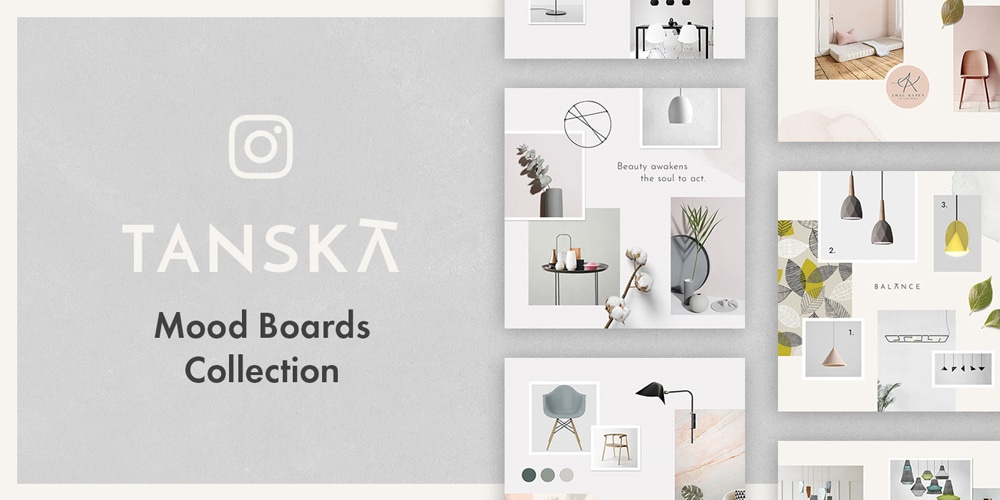 Tanska Instagram Templates Collection