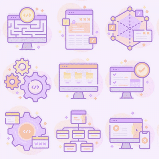 Web Development Iconset