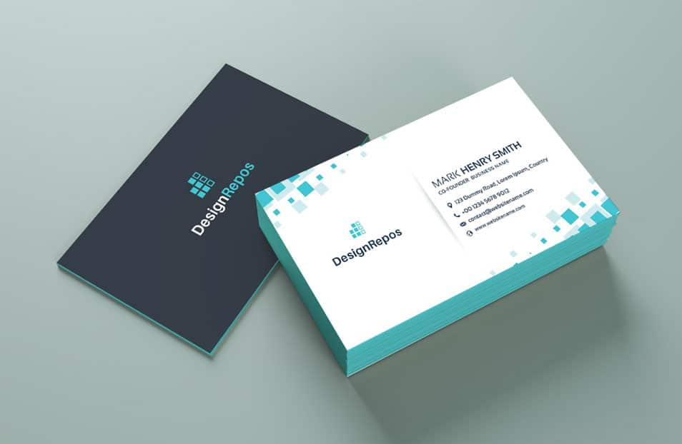 Free Professional Business Card Mockup