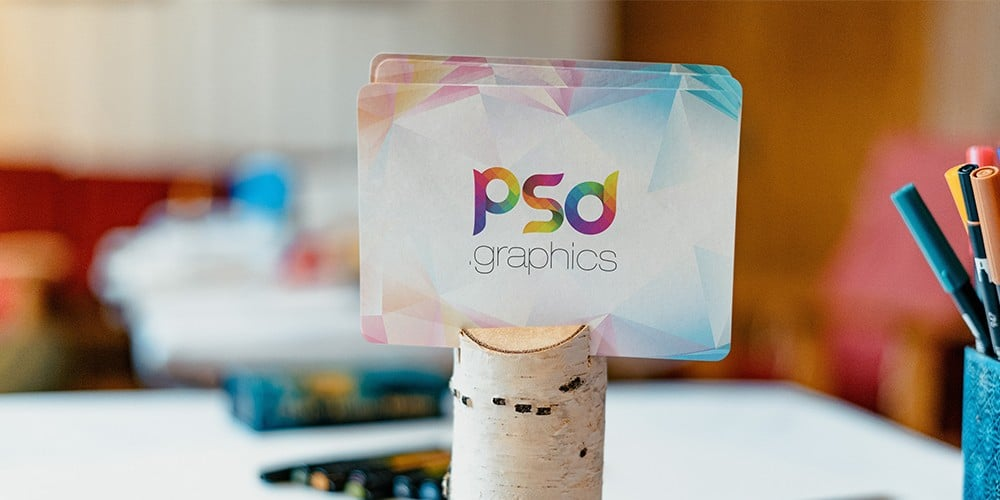 100+ Free Business Card Mockups PSD 2