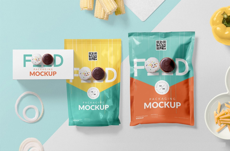 Free Food Packaging Mockup PSD
