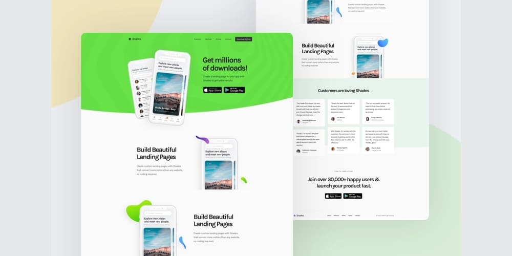 Free Landing Pages for Startup
