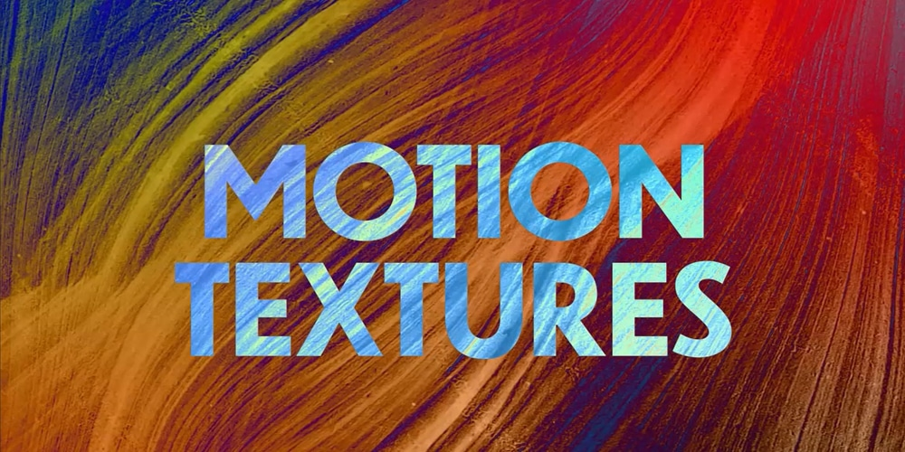 Free Motion Textures