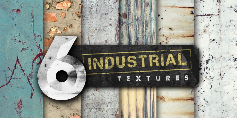 High Resolution Industrial Textures