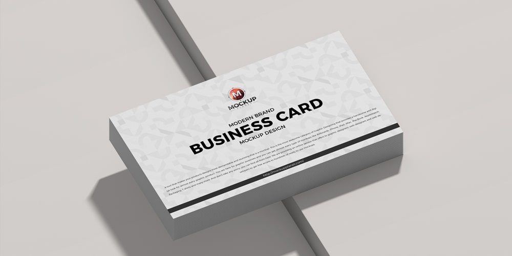 Modern Brand Business Card Mockup Design