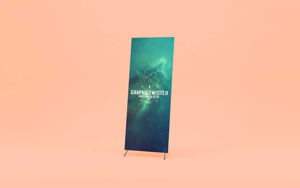 New Banner Stand Mockup