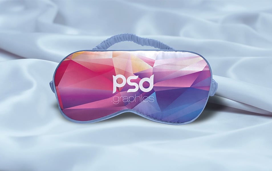 Sleeping Eye Mask Mockup PSD
