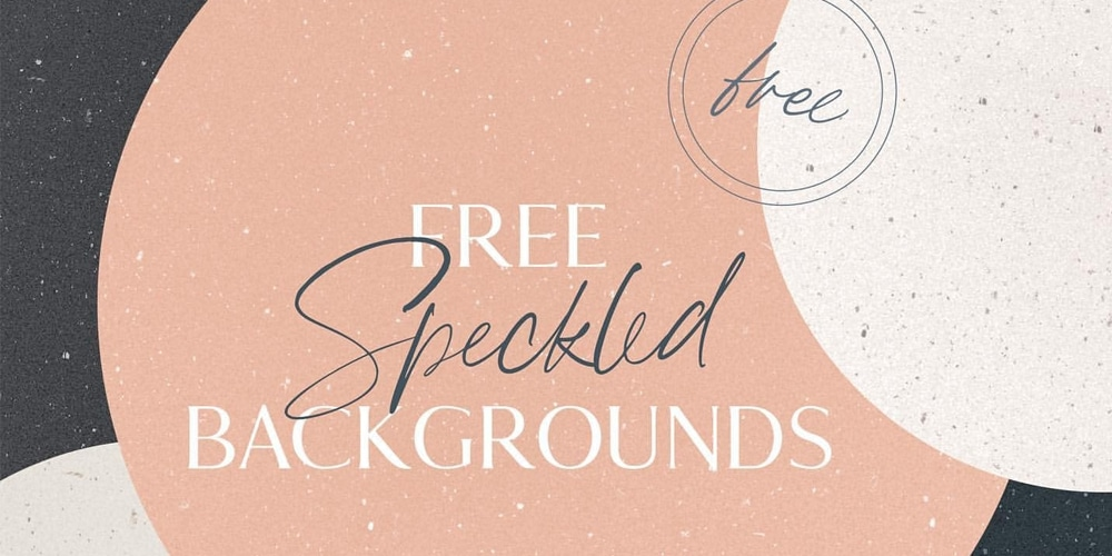 Speckled Backgrounds Texture