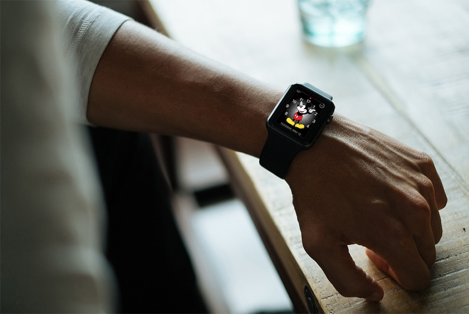 Apple Watch Mockup on Wrist