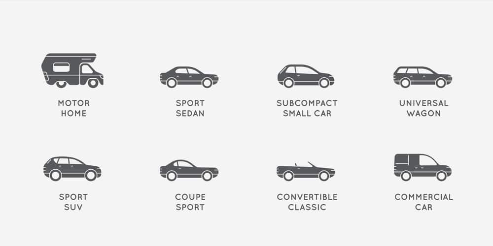 Cool Car Icons Set