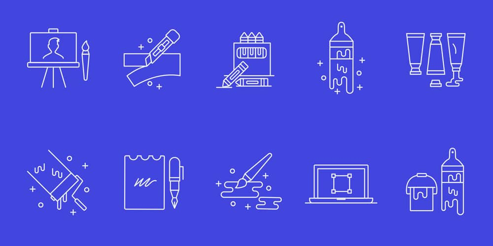 Designer Tools Vector Icons