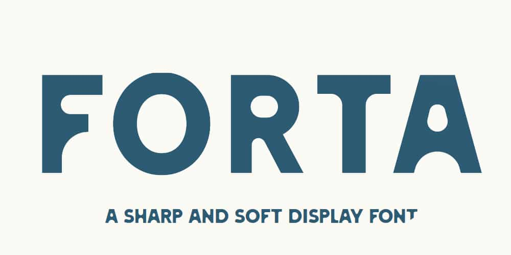 Forta Display Font