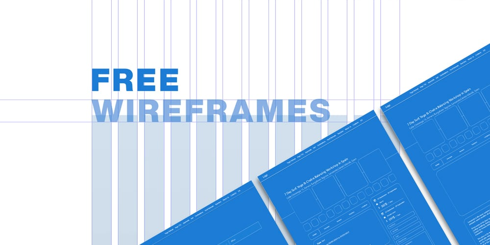 Free Wireframes for Adobe XD