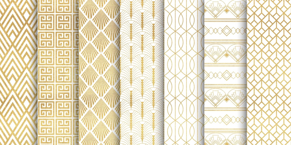 Gold Patterns Design