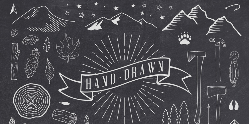 Hand-Drawn-Rustic-Elements