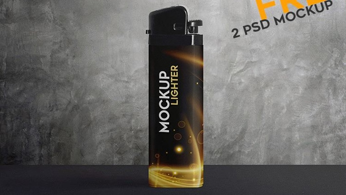 Lighter Free PSD Mockups